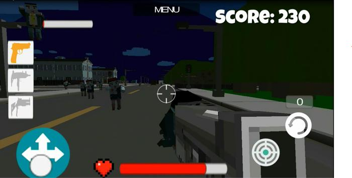 Pixel Zombie City apk screenshot