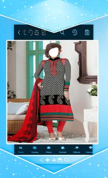 a1d08ddebca69 وجهك في ملابس هندية الملصق وجهك في ملابس هندية تصوير الشاشة 1 ...