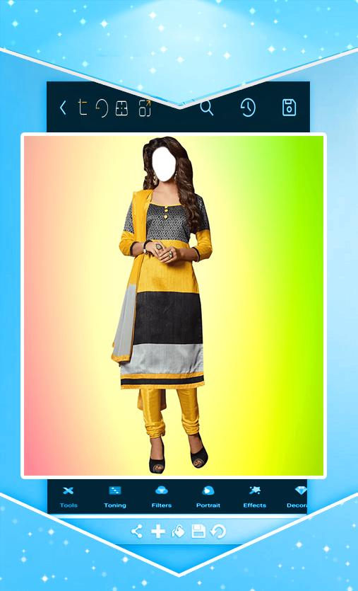 cf9571489ef74 وجهك في ملابس هندية for Android - APK Download