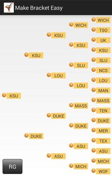 Make Bracket Easy apk screenshot