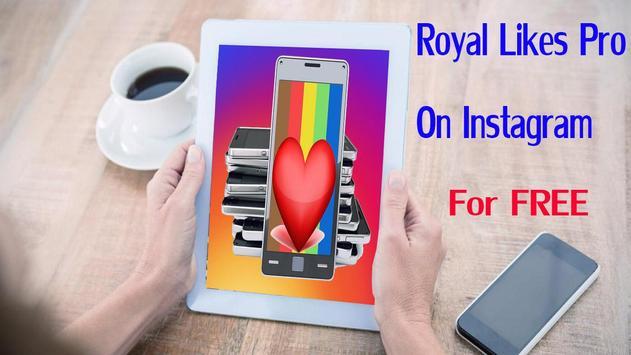 86+ Royal Likes Pro Apk - Royal Followers For Instagram 10