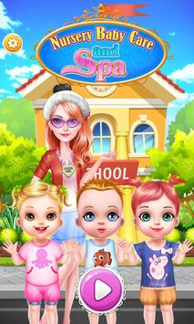 Nursery Baby Care and Spa poster
