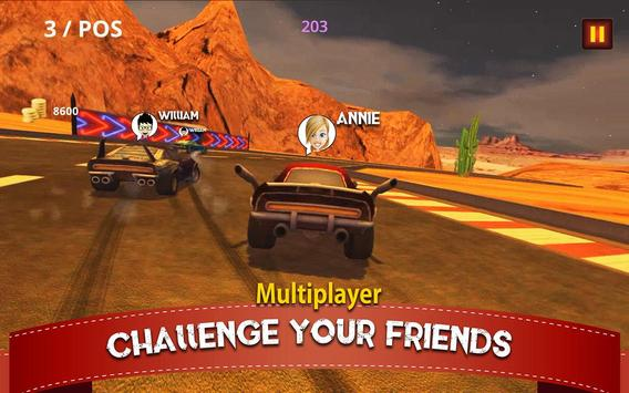 Real Multiplayer Racing screenshot 1