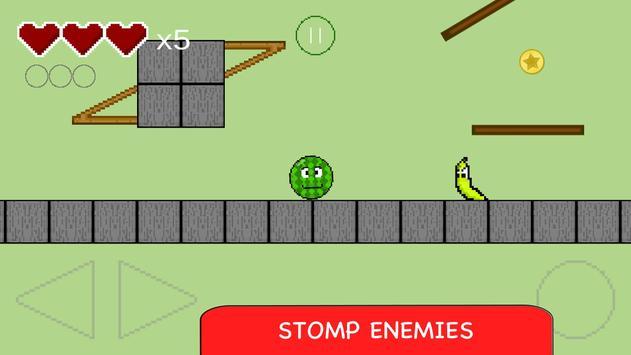 Watermelon Bouncing Ball apk screenshot