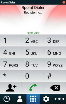 Rpoint Dialer screenshot 1