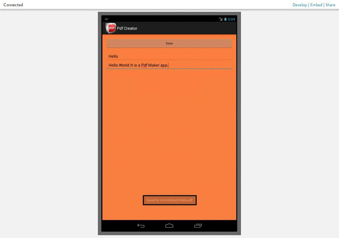Pdf to android apk