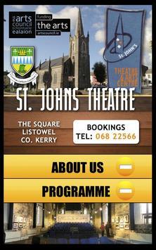 St Johns Theatre & Arts Centre poster