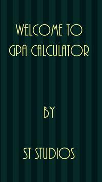 GPA Calculator poster