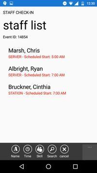 Fusion Staff Check-in screenshot 3