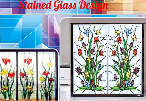 Stained Glass Design poster