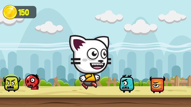 Stalking Cat Run - Super Tommas's Gold World apk screenshot
