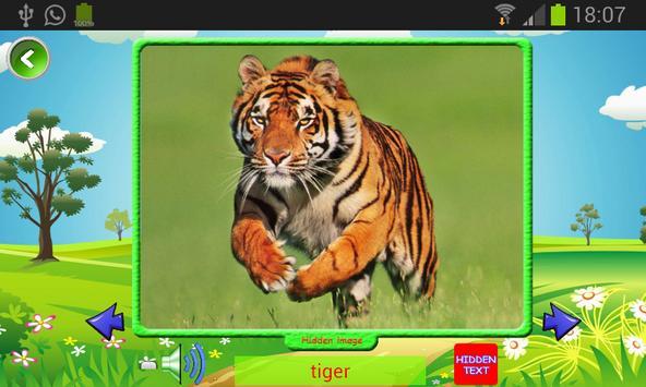 Starters Vocabulary para niños de primaria. screenshot 6
