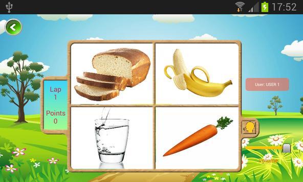 Starters Vocabulary para niños de primaria. screenshot 1