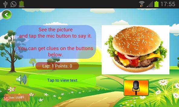 Starters Vocabulary para niños de primaria. screenshot 3