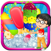 Ice Popsicle game: kids games icon