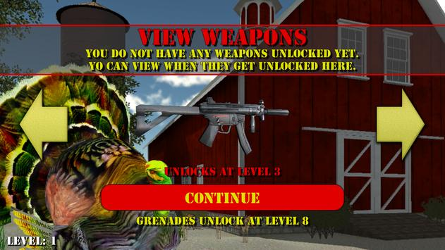 Zombie Turkey Outbreak apk screenshot