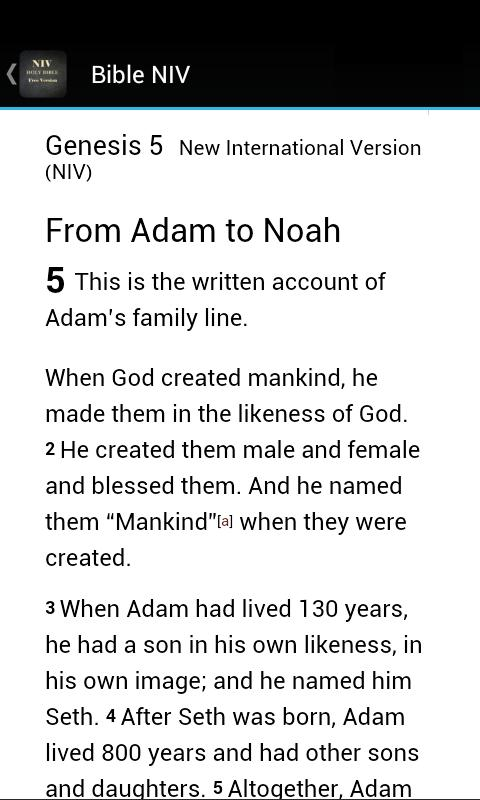 NIV Bible Free Version poster