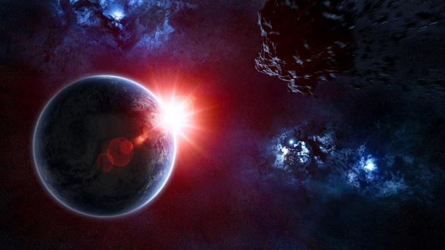 Moon Eclipe Live Wallpaper screenshot 2