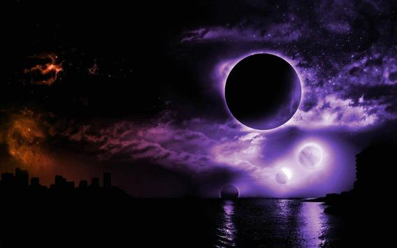 Moon Eclipe Live Wallpaper screenshot 1