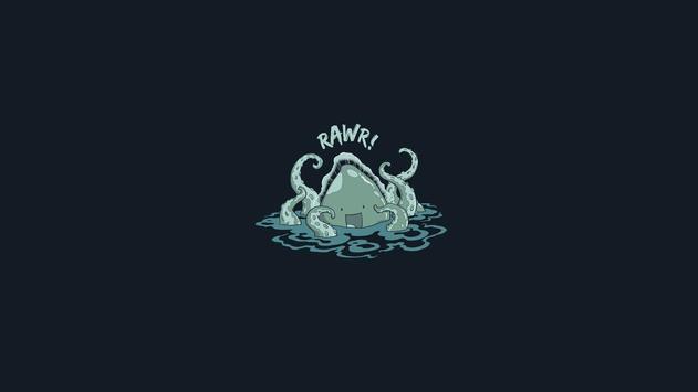 Octopus Live Wallpaper apk screenshot