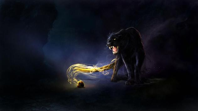 Black Panther Live Wallpaper apk screenshot