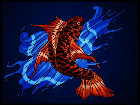Koi Fish Live Wallpaper poster