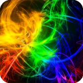 Colored Fire Live Wallpapers icon