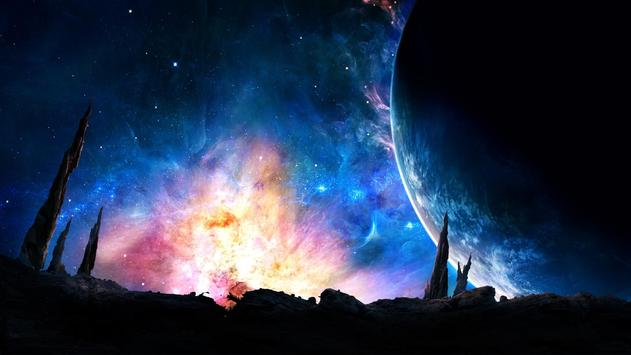 Galaxy Live Wallpaper poster