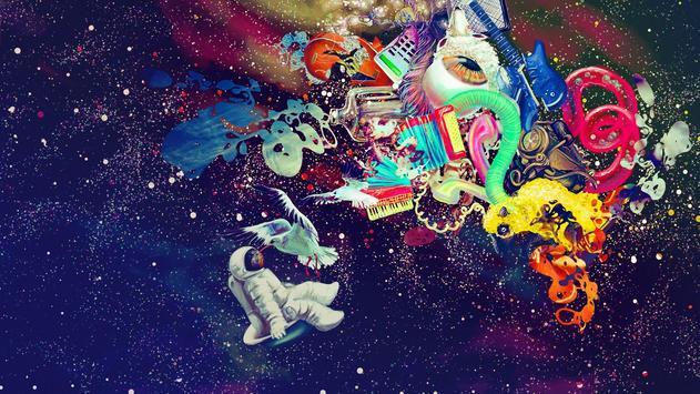 Psychedelic Galaxy Wallpaper apk screenshot