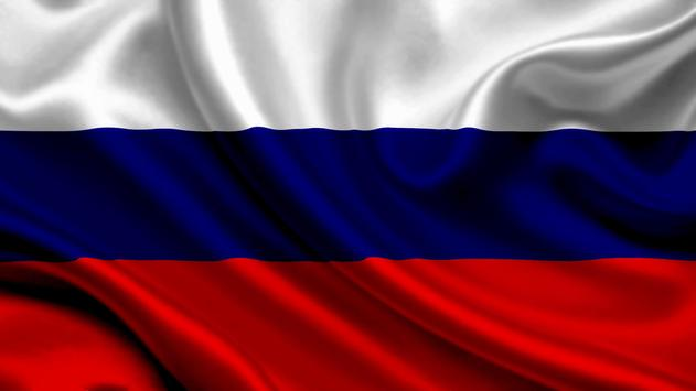 Russia Flag Live Wallpaper poster