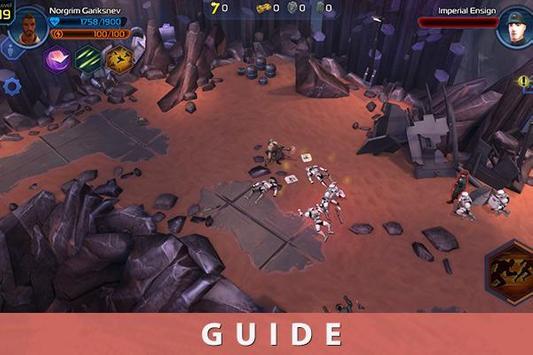 Guide for Star Wars Uprising screenshot 1