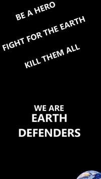 We are Earth Defenders poster