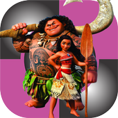 Moana Piano Tiles icon
