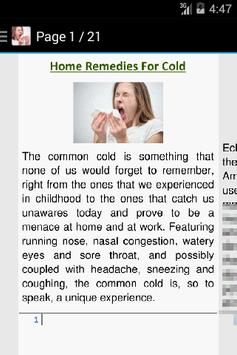 Cold Home Remedies apk screenshot