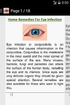 Eye Infections Home Remedies screenshot 1