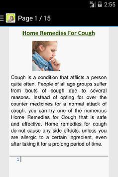 Cough Home Remedies apk screenshot