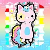 Unicorn Kawaii Jump icon