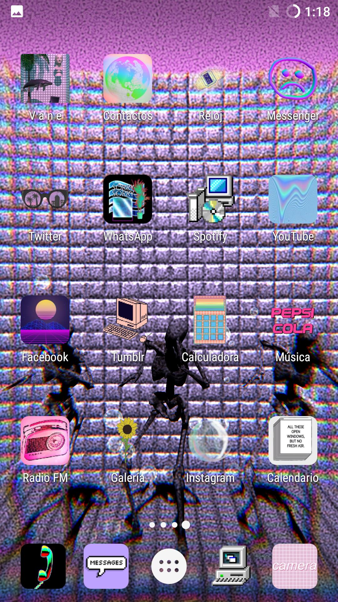Vaporwave N Aesthetic Live Wallpaper Free For Android Apk Download