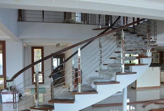 Steel railing design screenshot 8