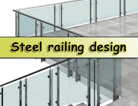 Steel railing design poster