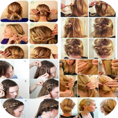 Step By Step Hairstyles icon