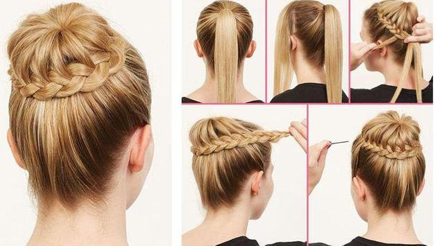 Step By Step Hairstyles poster