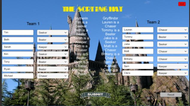 Sorting Hat screenshot 1