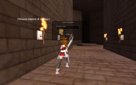 Princess Warrior of Zenago I screenshot 2