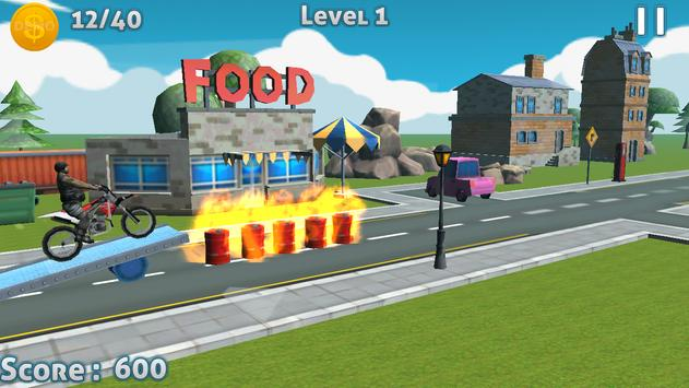 City Stunt Bike Racer 3D apk screenshot