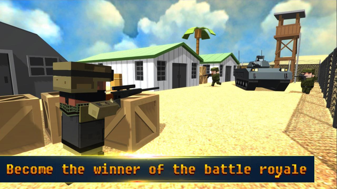 Grand Battle Royale Shooter Craft Survival for Android - APK