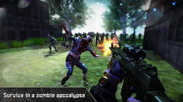 Last Dead Z Day: Zombie Sniper Survival poster