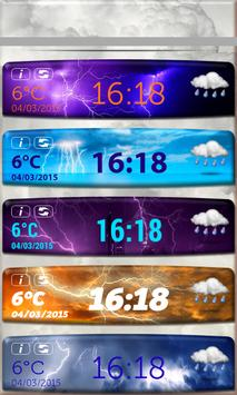 Download Storm Weather Clock Widget 3 0 APK for android Fast