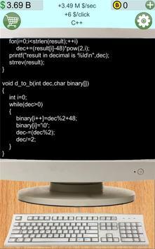 Programmer clicker poster