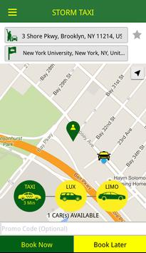 Storm Taxi screenshot 1